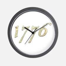 """Independence """"1776"""" Wall Clock"""