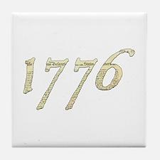 "Independence ""1776"" Tile Coaster"