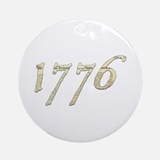 "Independence ""1776"" Ornament (Round)"