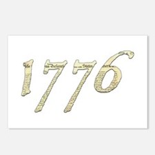 """Independence """"1776"""" Postcards (Package of 8)"""