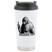 Unique Sasquatch Travel Mug