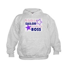 My Daddy is a Sailor but momm Hoodie
