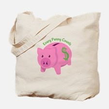Every Penny Counts Tote Bag