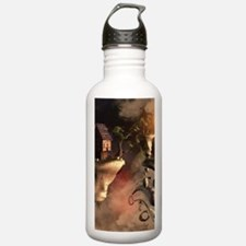 In the realm of sky Water Bottle