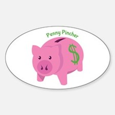 Penny Pincher Decal