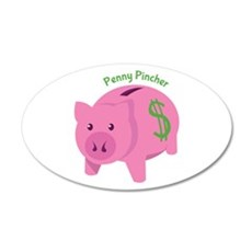 Penny Pincher Wall Decal