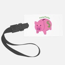 Penny Pincher Luggage Tag