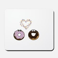 Sprinkle Me with Love: donut series Mousepad