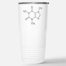Caffeine Molecule Travel Mug