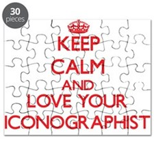 Keep Calm and love your Iconographist Puzzle