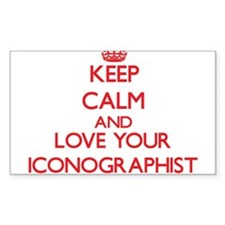 Keep Calm and love your Iconographist Decal