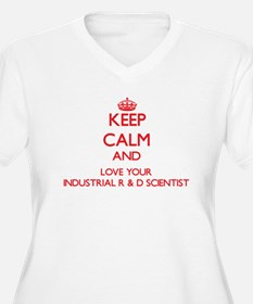 Keep Calm and love your Industri Plus Size T-Shirt