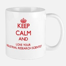 Keep Calm and love your Industrial Research S Mugs