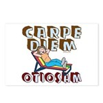 Carpe Diem Otiosam f Postcards (Package of 8)