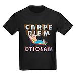 Carpe Diem Otiosam f Kids Dark T-Shirt