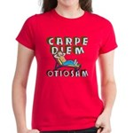 Carpe Diem Otiosam f Women's Dark T-Shirt