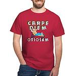 Carpe Diem Otiosam f Dark T-Shirt