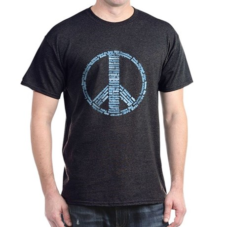 Languages of Peace Dark T-Shirt