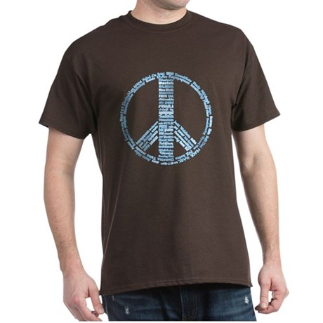 Languages of Peace Dark T-Shirt