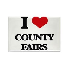 I love County Fairs Magnets