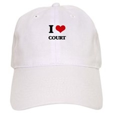 I love Court Baseball Cap