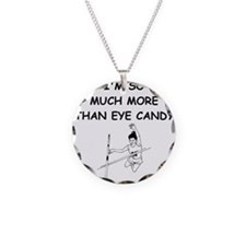 i love pole vaulting Necklace