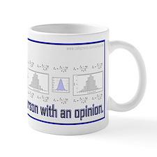 Without Data... Small Mug