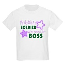 My daddy is a soldier but mom T-Shirt