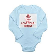 Keep Calm and love your Oboist Body Suit