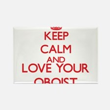 Keep Calm and love your Oboist Magnets
