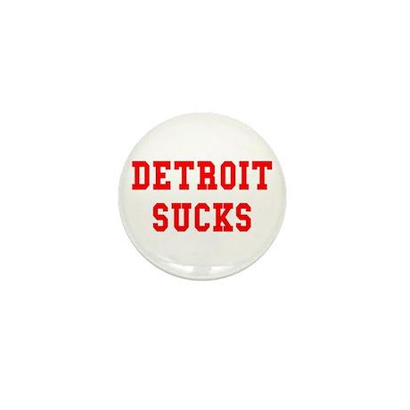 Detroit Sucks Mini Button (10 pack)