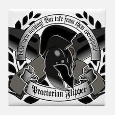 Flipper P knive Tile Coaster
