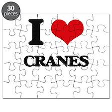 I love Cranes Puzzle