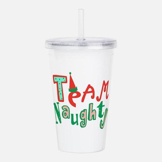 Team Naughty Acrylic Double-wall Tumbler