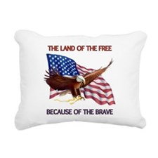 Land of the Free... Rectangular Canvas Pillow