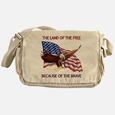 Land of the Free... Messenger Bag