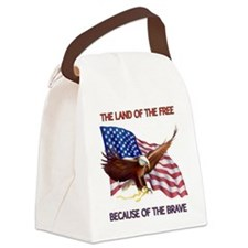 Land of the Free... Canvas Lunch Bag
