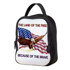Land of the Free... Neoprene Lunch Bag