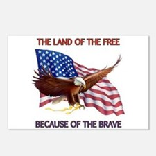 Land of the Free... Postcards (Package of 8)