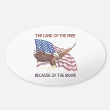 Land of the Free... Decal