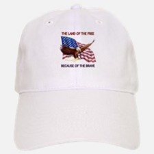 Land of the Free... Baseball Baseball Cap