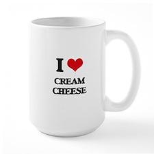 I love Cream Cheese Mugs