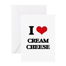 I love Cream Cheese Greeting Cards