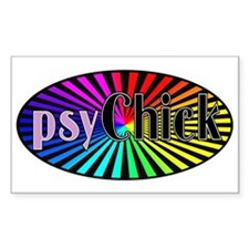 PsyChick Rectangle Decal