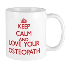 Keep Calm and love your Osteopath Mugs