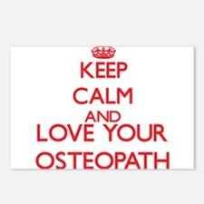 Keep Calm and love your O Postcards (Package of 8)
