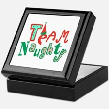 Team Naughty Keepsake Box