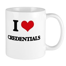 I love Credentials Mugs