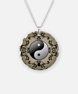 Ying and yang Necklace