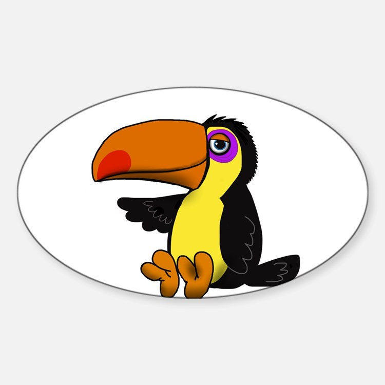 Chillin Toucan Decal